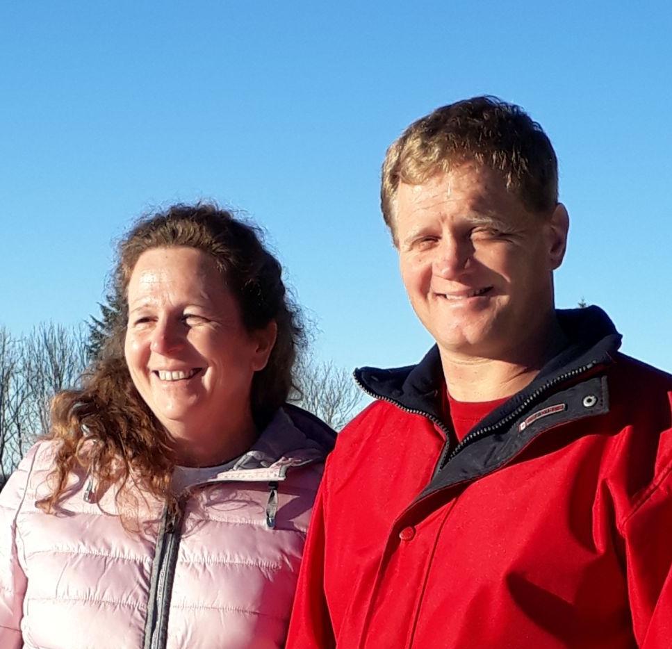 Secteur vert :  Elvina et Markus Scheidegger