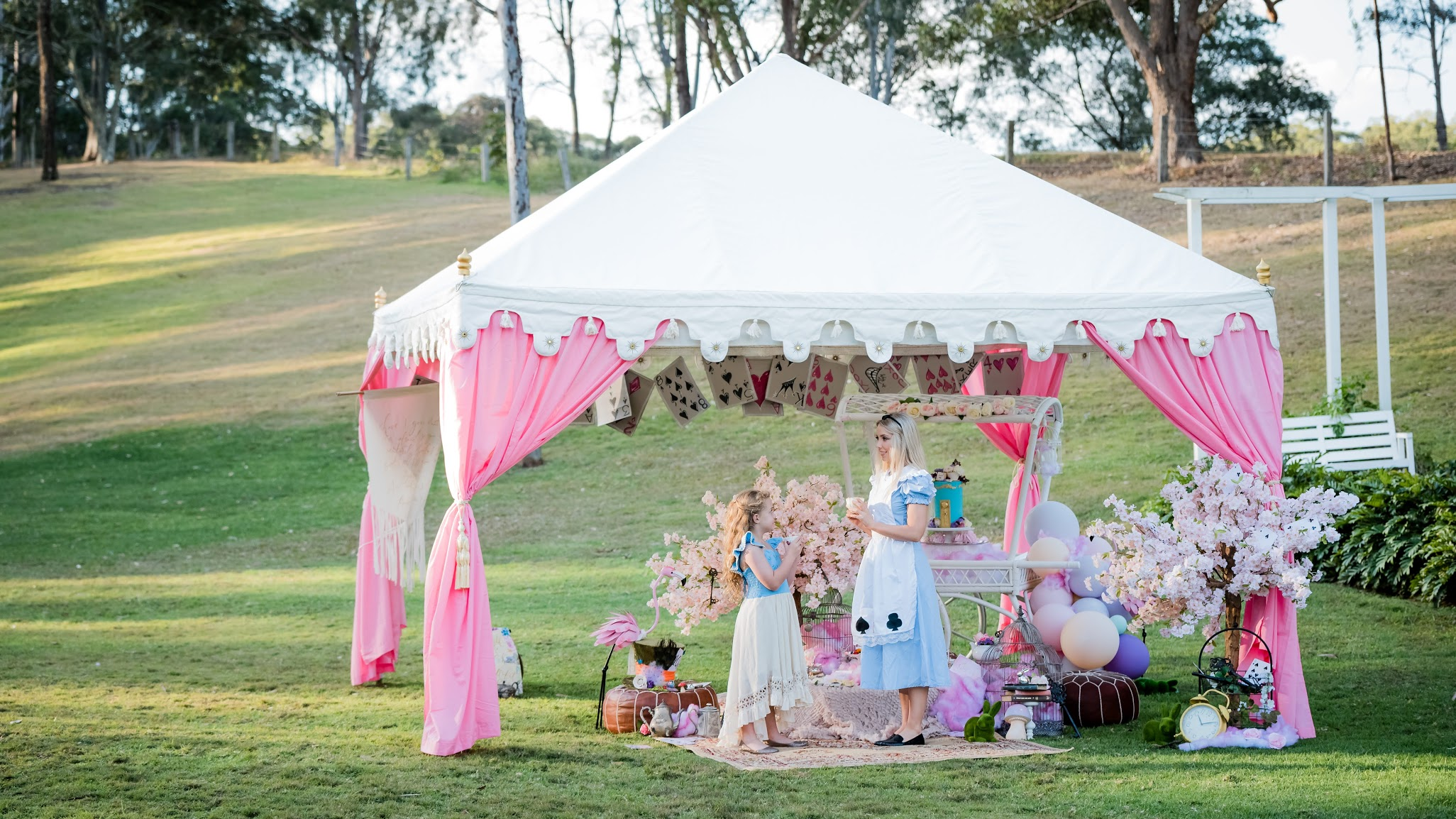 Beautiful marquee by Exotic Soirees.