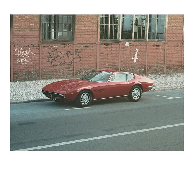 Thank you Mr. Giugiaro . . . . #maserati #maseratighibli #sportscars #getoutanddrive #italiancars #timelessgarage #v8engine#giugiarodesign