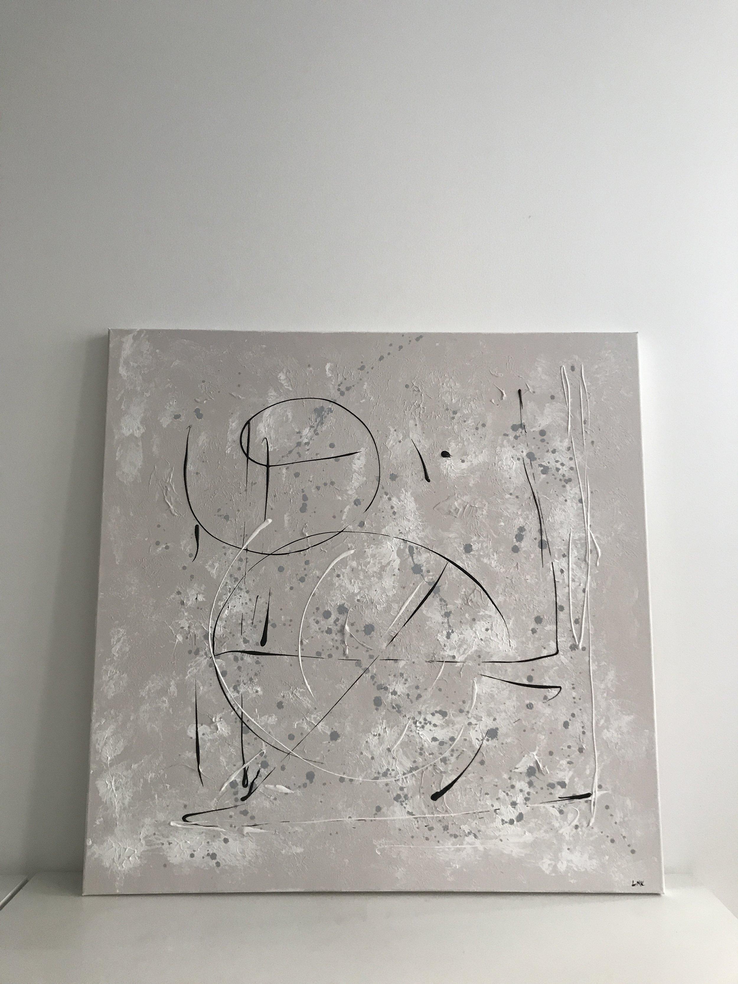 continuity II, 2018  100cm x 100cm, 750€