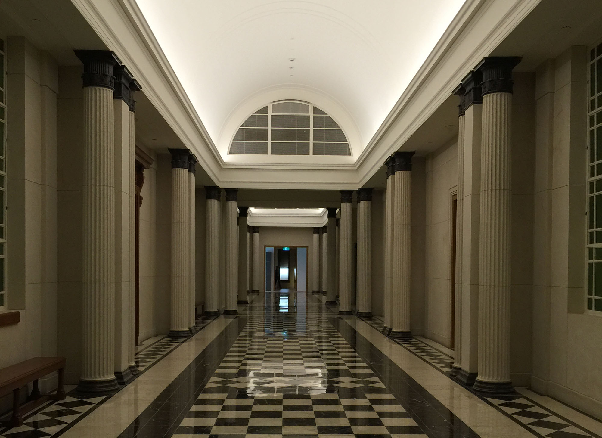 Courtrooms Corridors