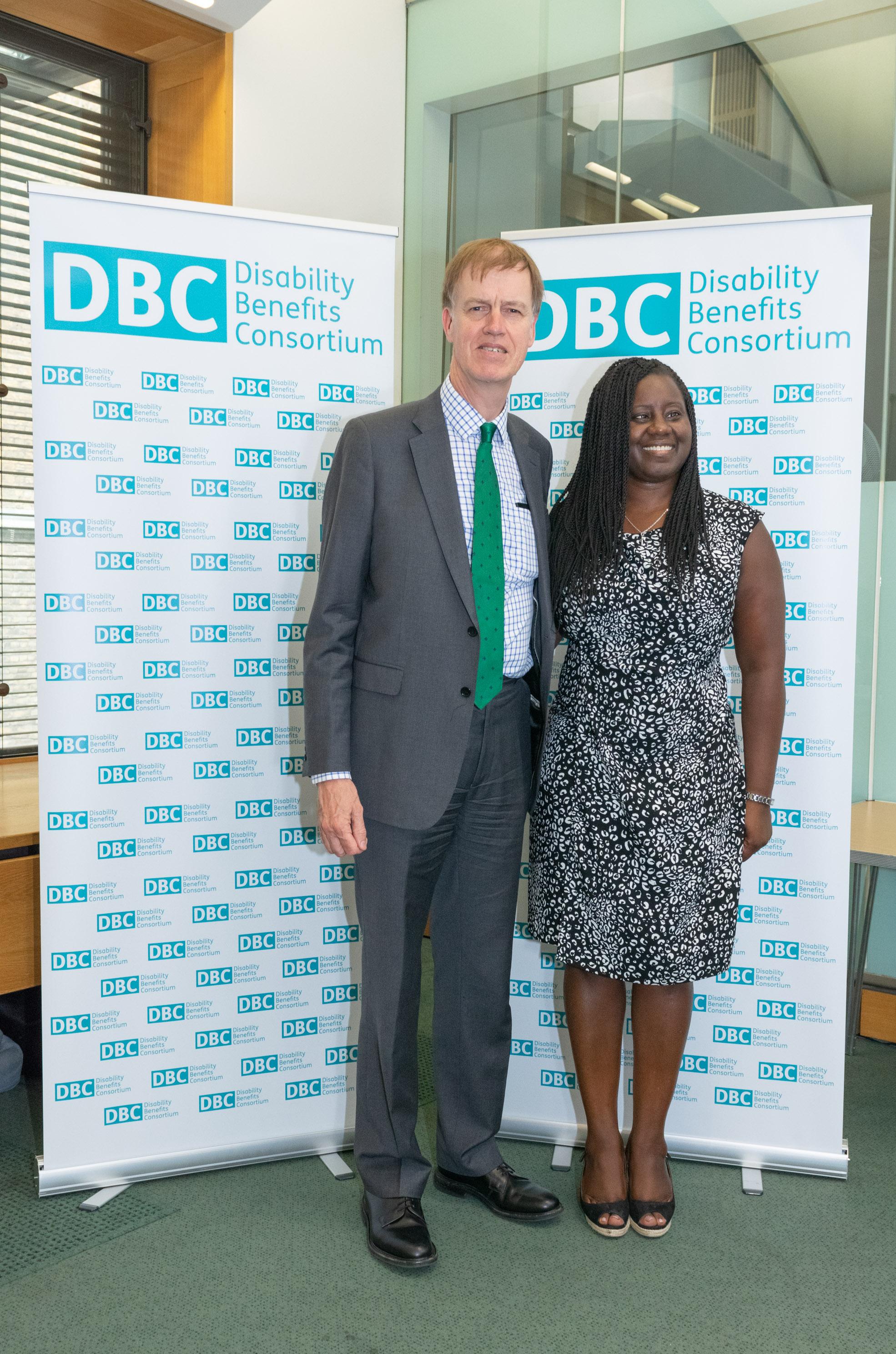 Stephen Timms MP and Marsha de Cordova MP (002).JPG
