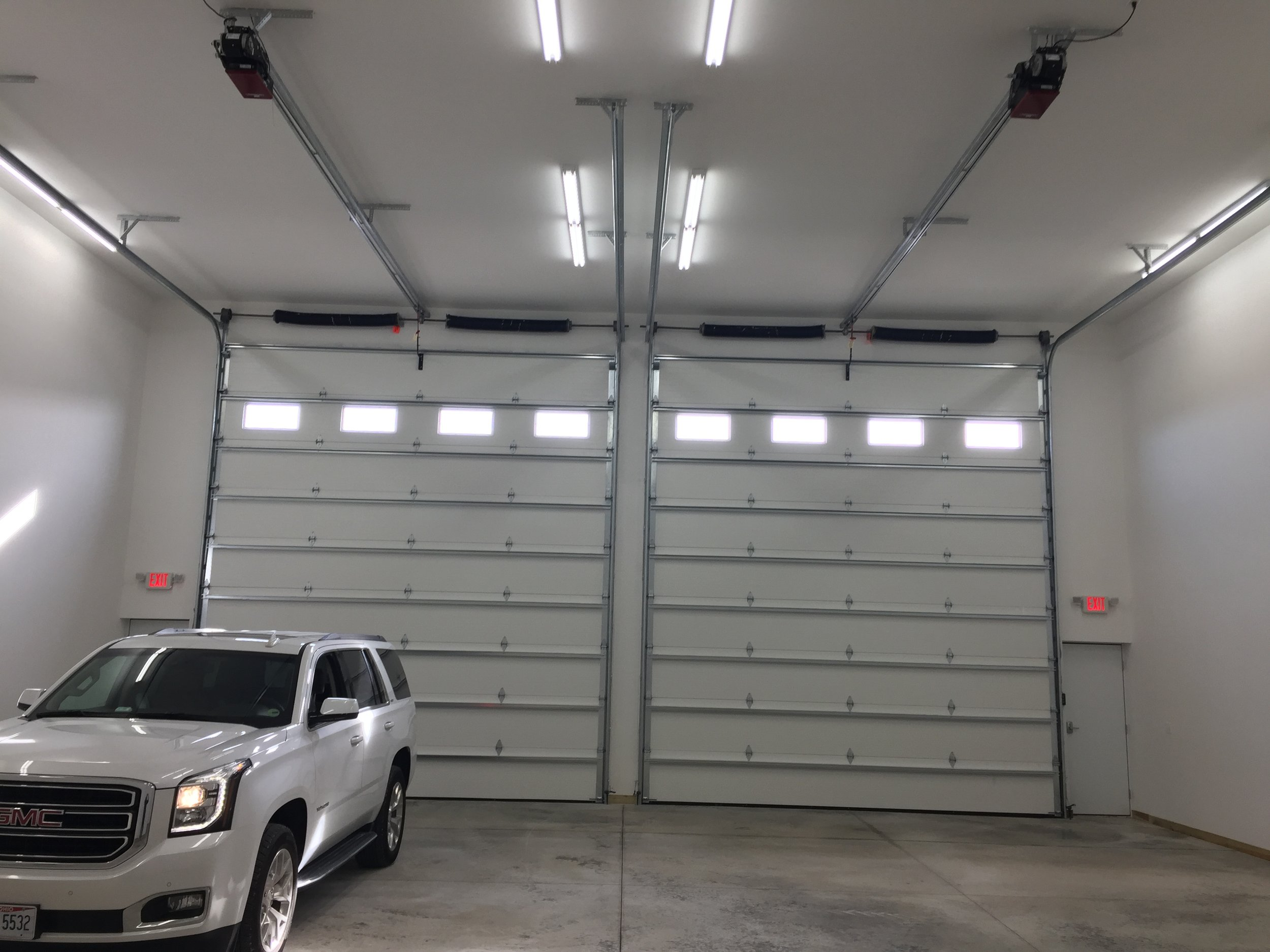 Double unit 18'h x 16'w doors