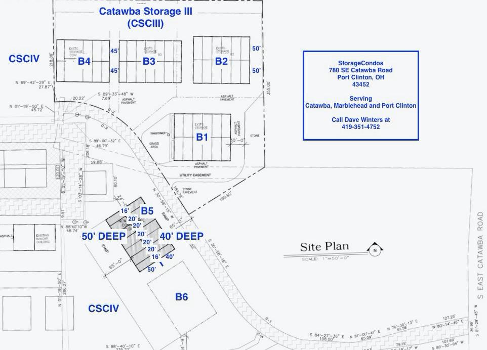 Building 5 Site Plan