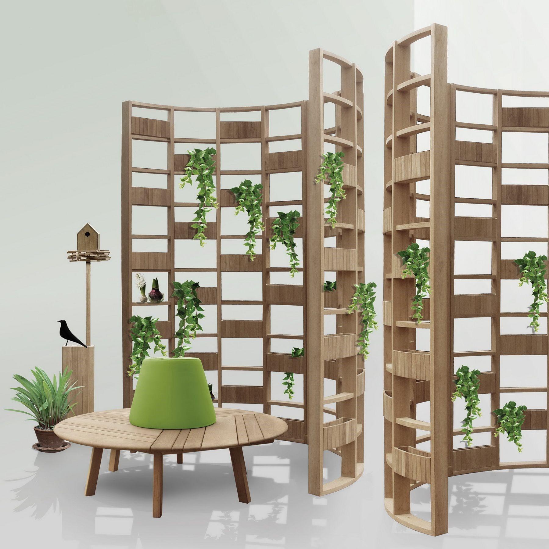 DEESAWAT – biombo-verde e mobiliário para área externa