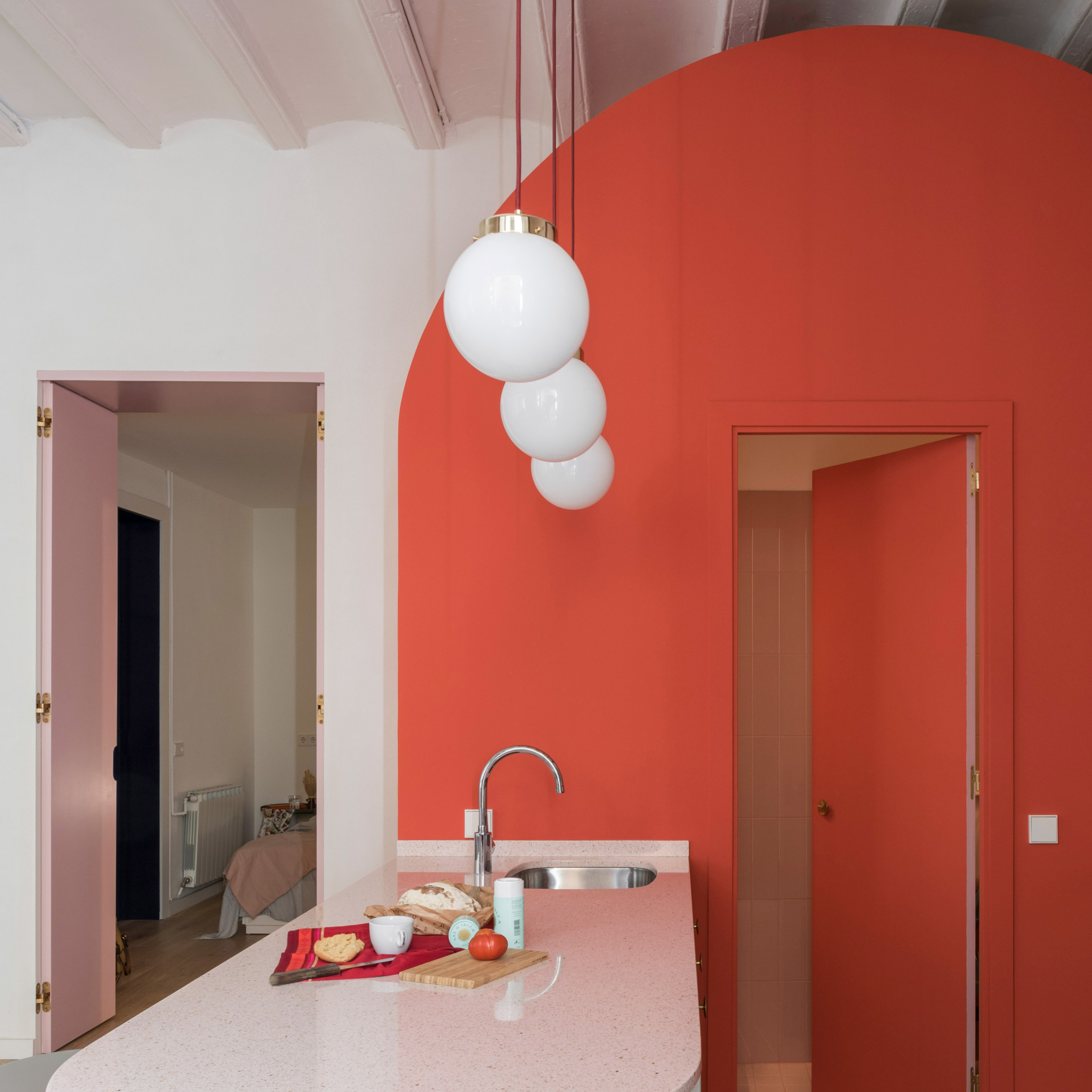 ApartAmentO EM Born, ESPANHA - Colombo and Serboli Architecture - FONTE: DEZEEN ARCHITECTURE AND DESIGN MAGAZINE