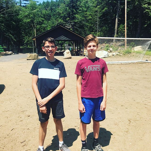 Bye boys! Have a great week at camp!! @jmrynott