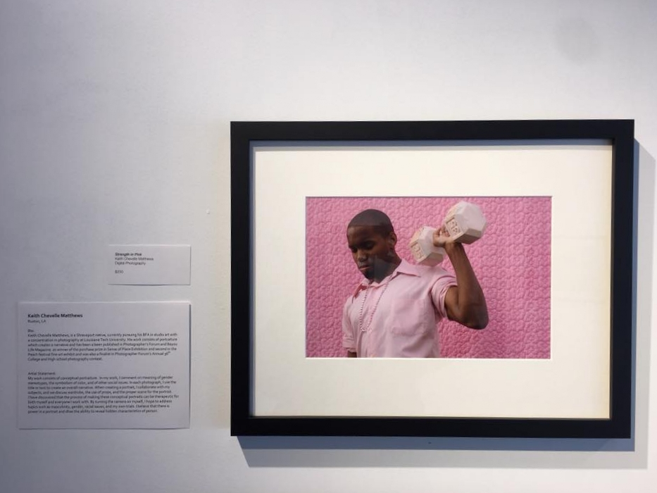 """Strength in Pink"" in the Durango Arts Center's Traditions: International Juried Photography Exhibit"