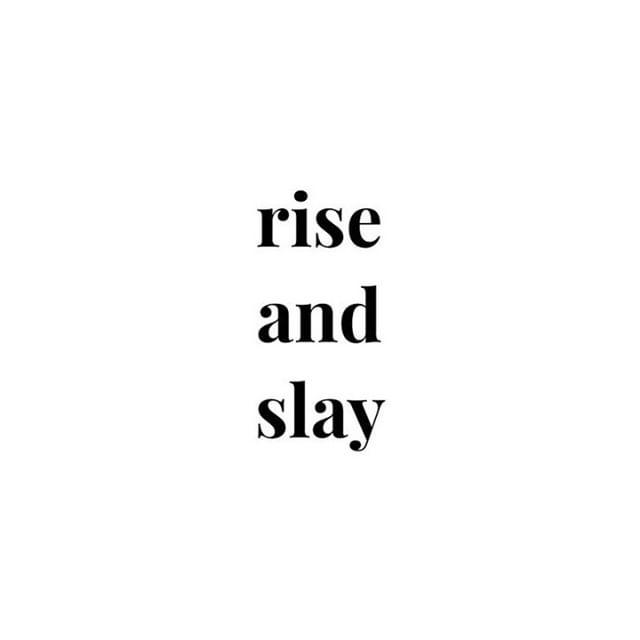 Have a productive Monday! 💪 #rise #slay #monday #mondaymotivation #positivity #uplifting #chelsea #kingsroad #musekingsroad