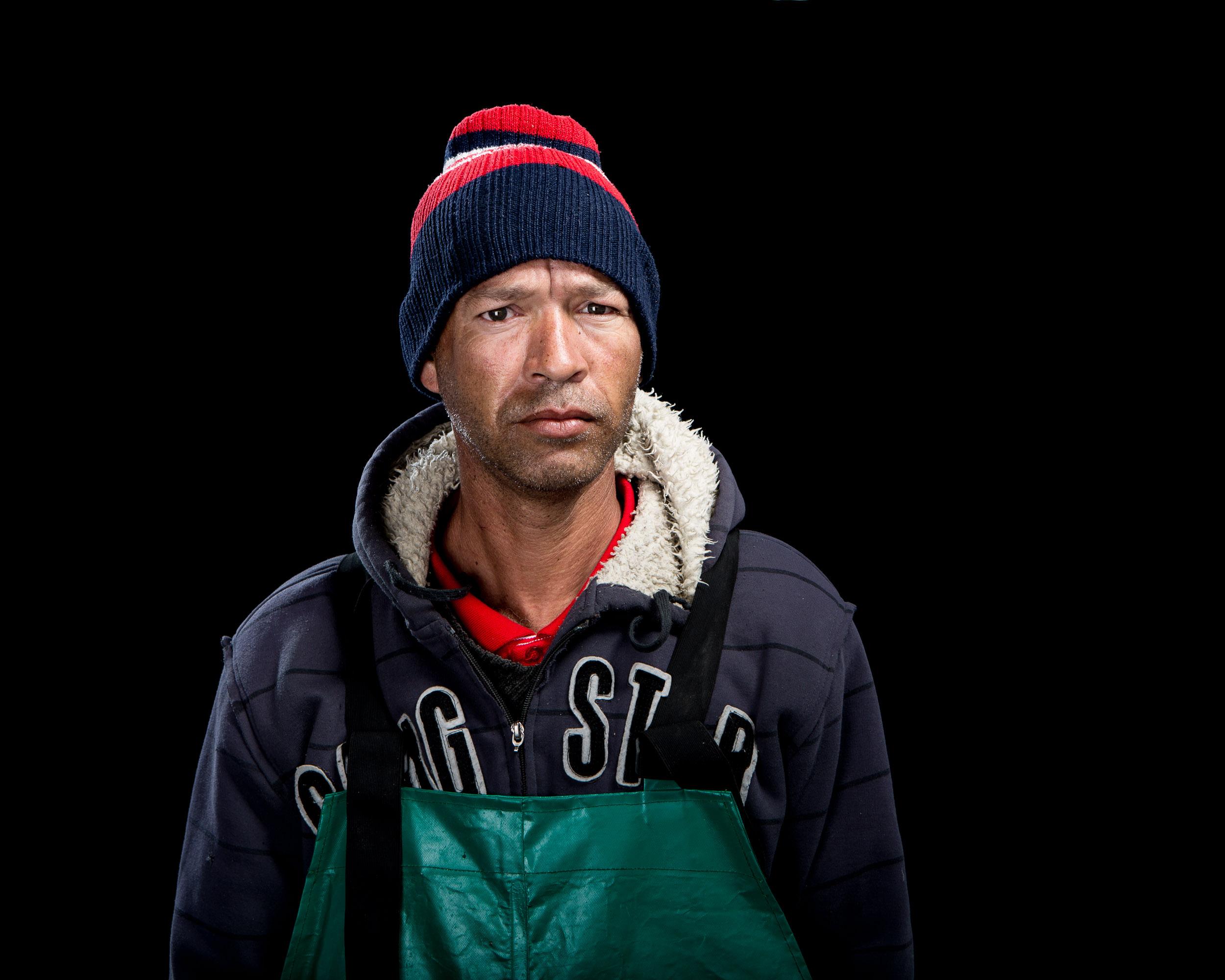 Traditional handline fisherman Garth Henry