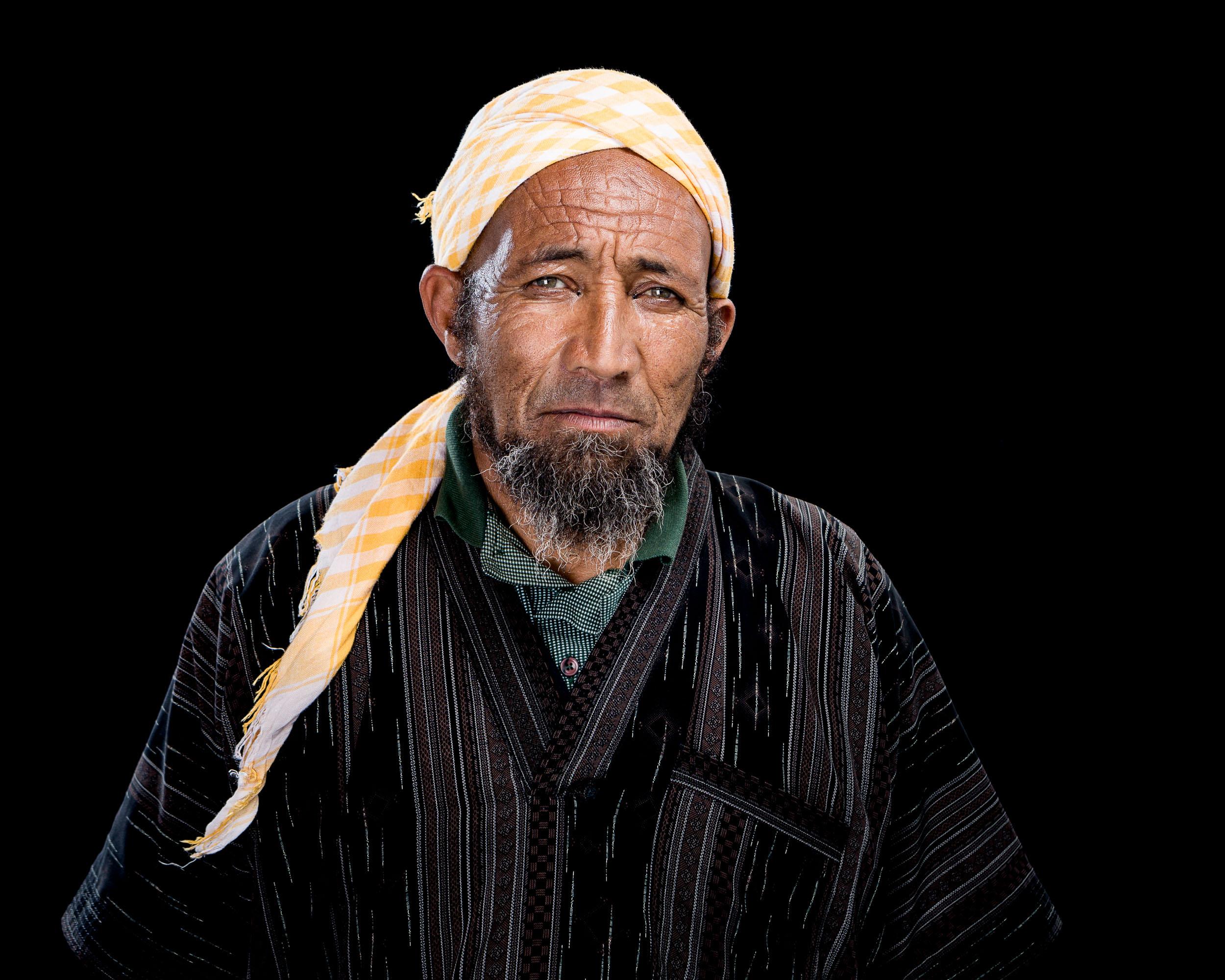 Traditional handline fisherman Abdurrazak Mozes