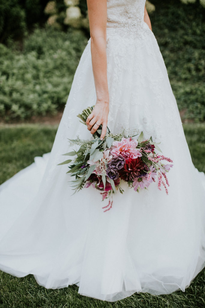 Loved this lush bouquet!
