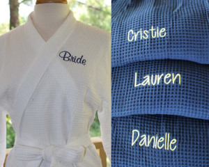 Comfortable robes by Personalized Gifts by J on Etsy.com
