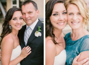 The bride's mom and dad. Love them!