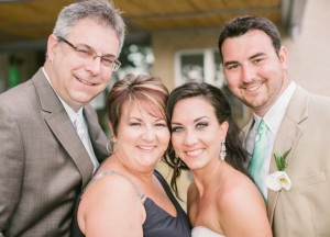 The groom's parents! Love them too!