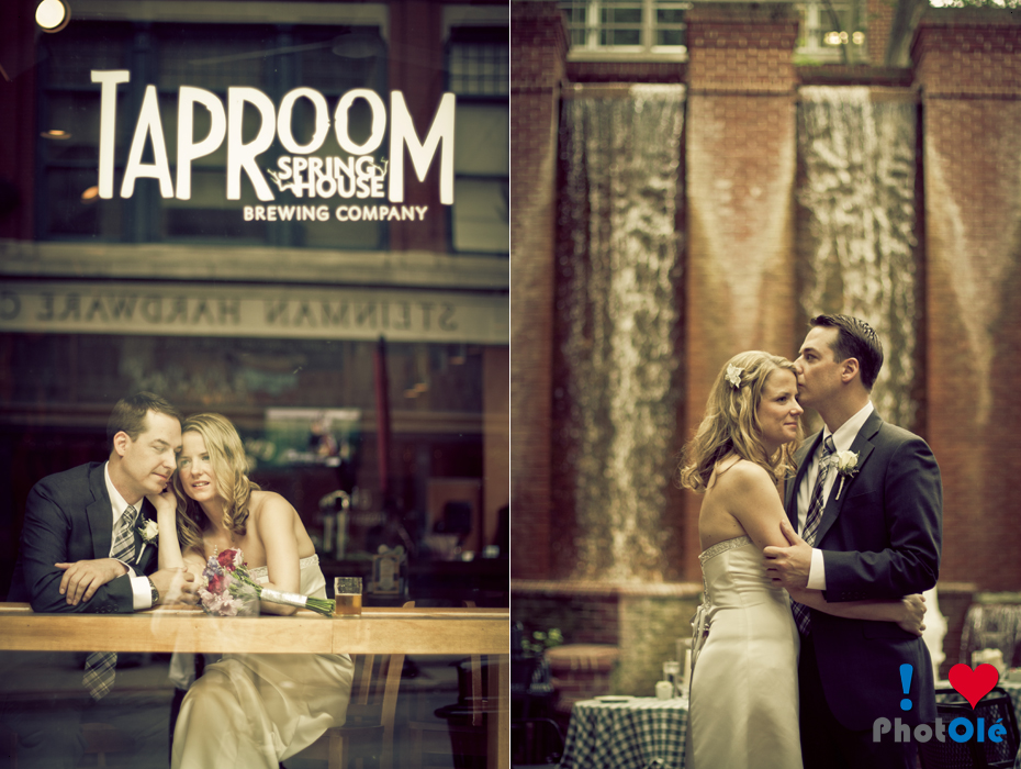 Apparently this couple loves The Taproom so Ole took pictures of them there.