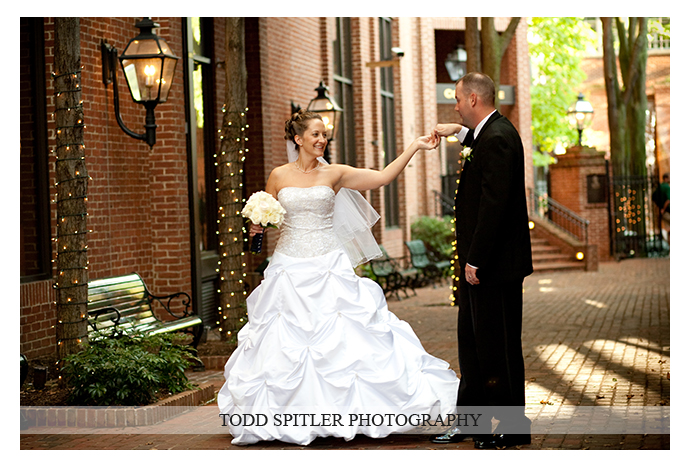 This ball gown style dress makes her look just like a princess! Photo by Todd Spitler Photography.