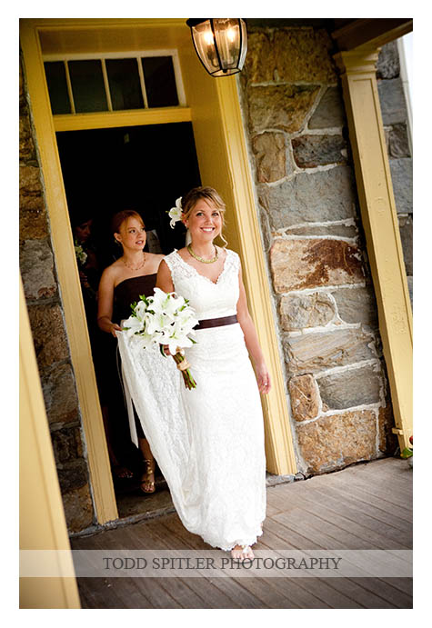 This straight style dress is slim and clings to the body. Photo by Todd Spitler Photography.