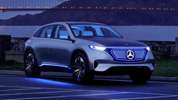 The Mercedes EQ-C: