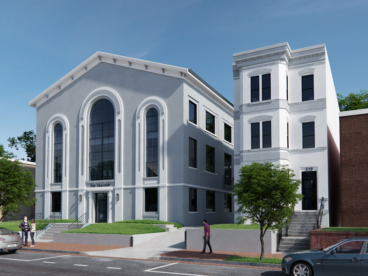 A Capitol Hill Church Going Condo