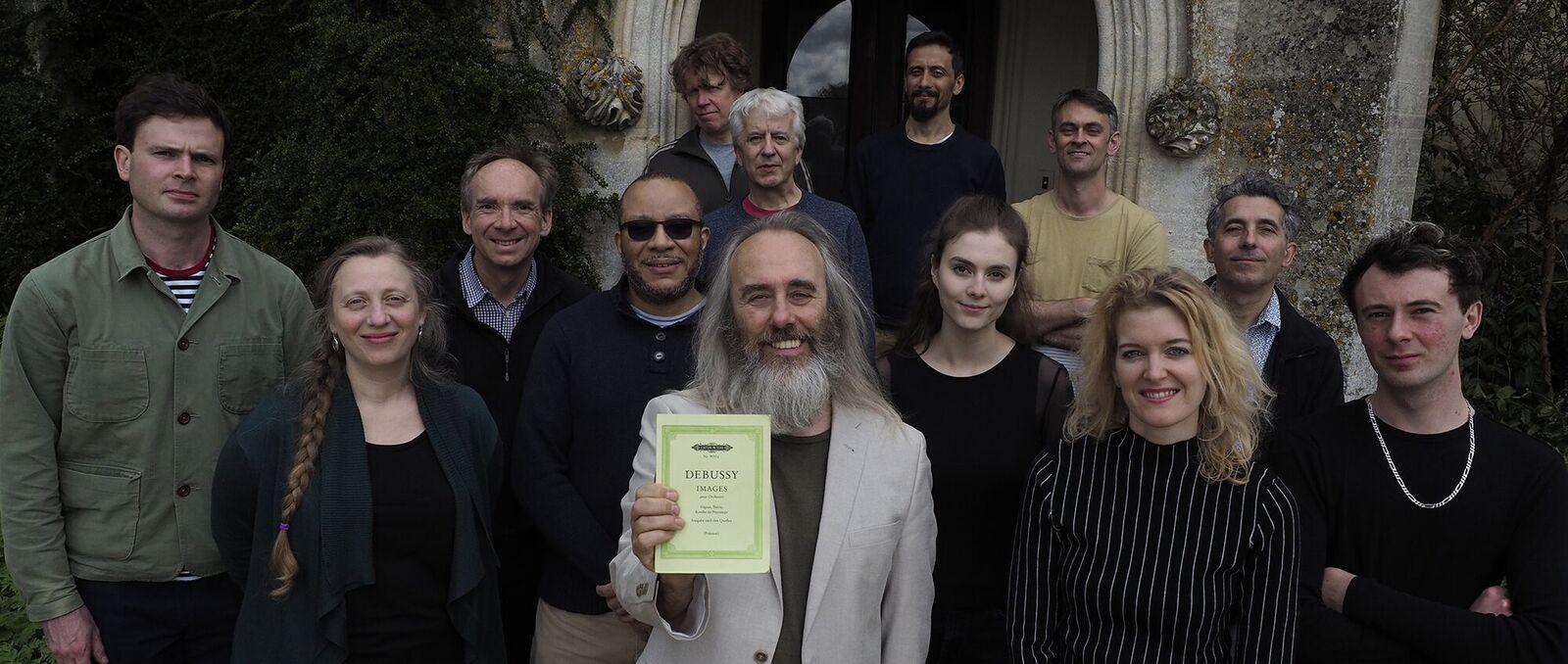 Eddie Parker's Debussy Mirrored Ensemble