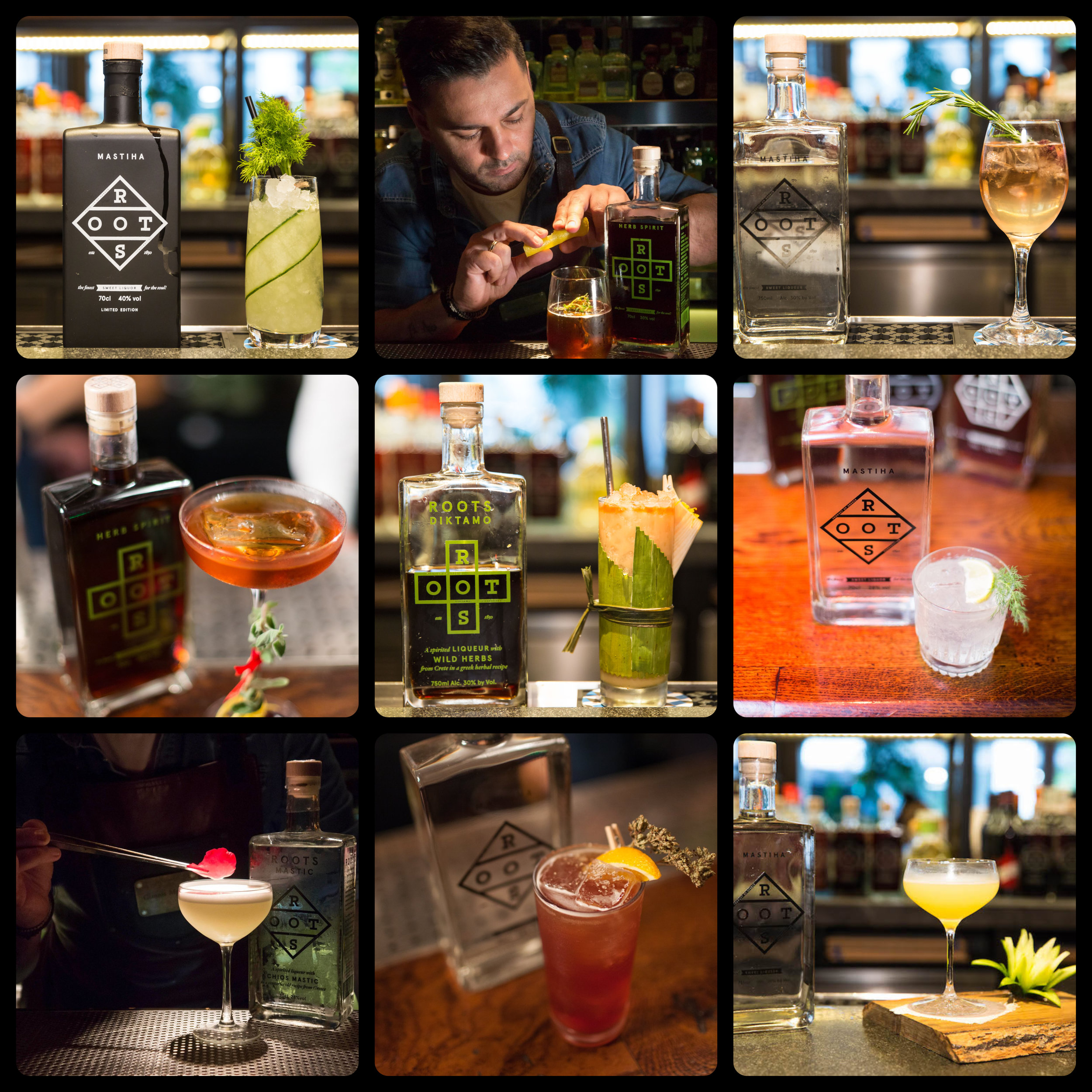 2. A picture or video - A picture of the cocktail with the Roots bottle in the back or a video, making your cocktail. We will upload all material on our website & social media during the competition, tagging the bar and the bartender.The video / photo can also be made with a mobile phone.