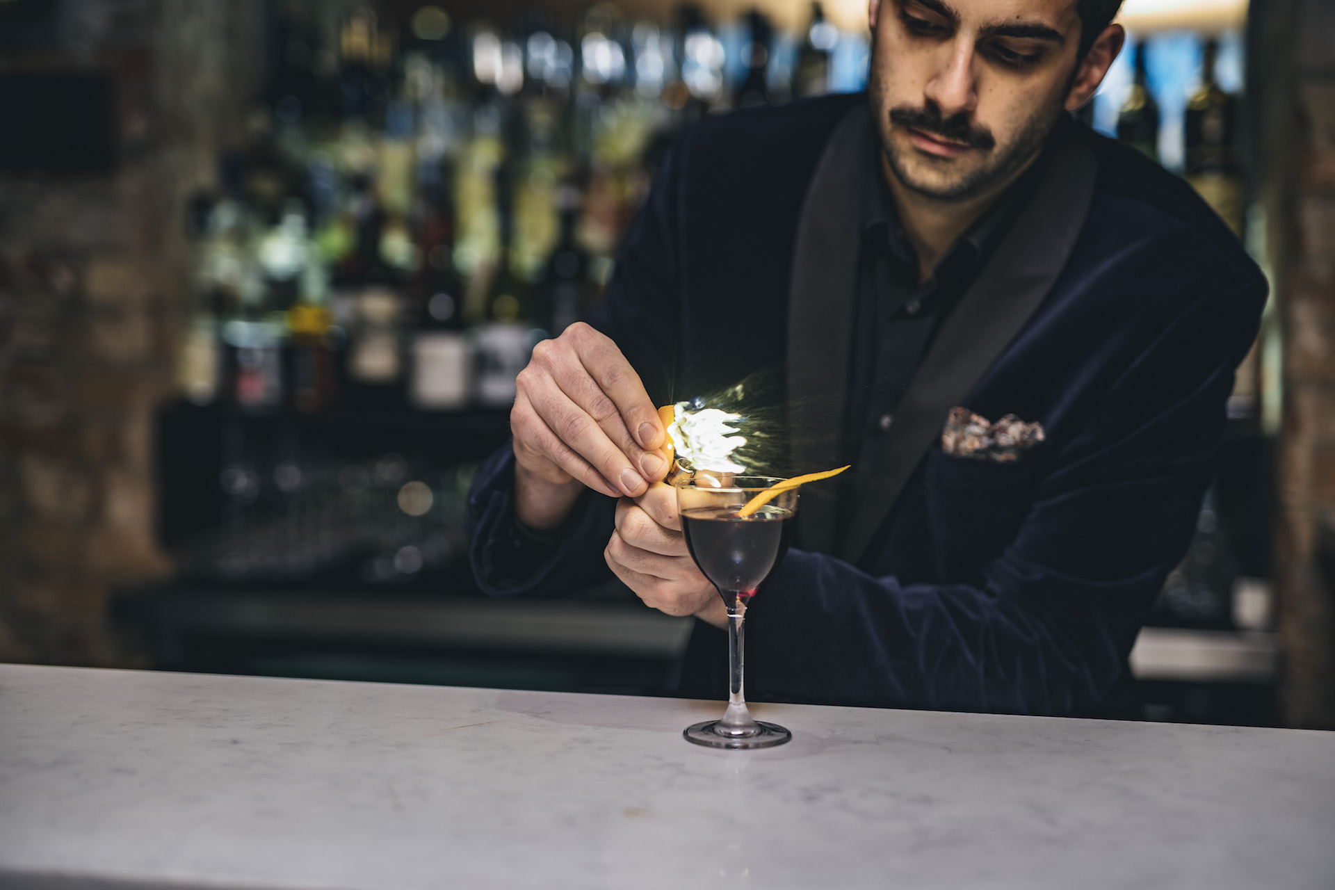 Evan Prousaefs - Evan Prousaefs is the Bar Manager of Meraki bar & restaurant, with experience in high-end venues in London and Mykonos. He was running the Bar & Beverage department of Nammos group and has strong background in openings, including the first Ling Lin Hakkasan.