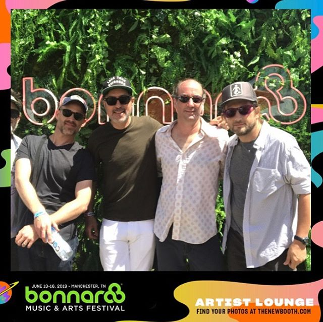 It was a beautiful day one @bonnaroo So much fun playing!!!