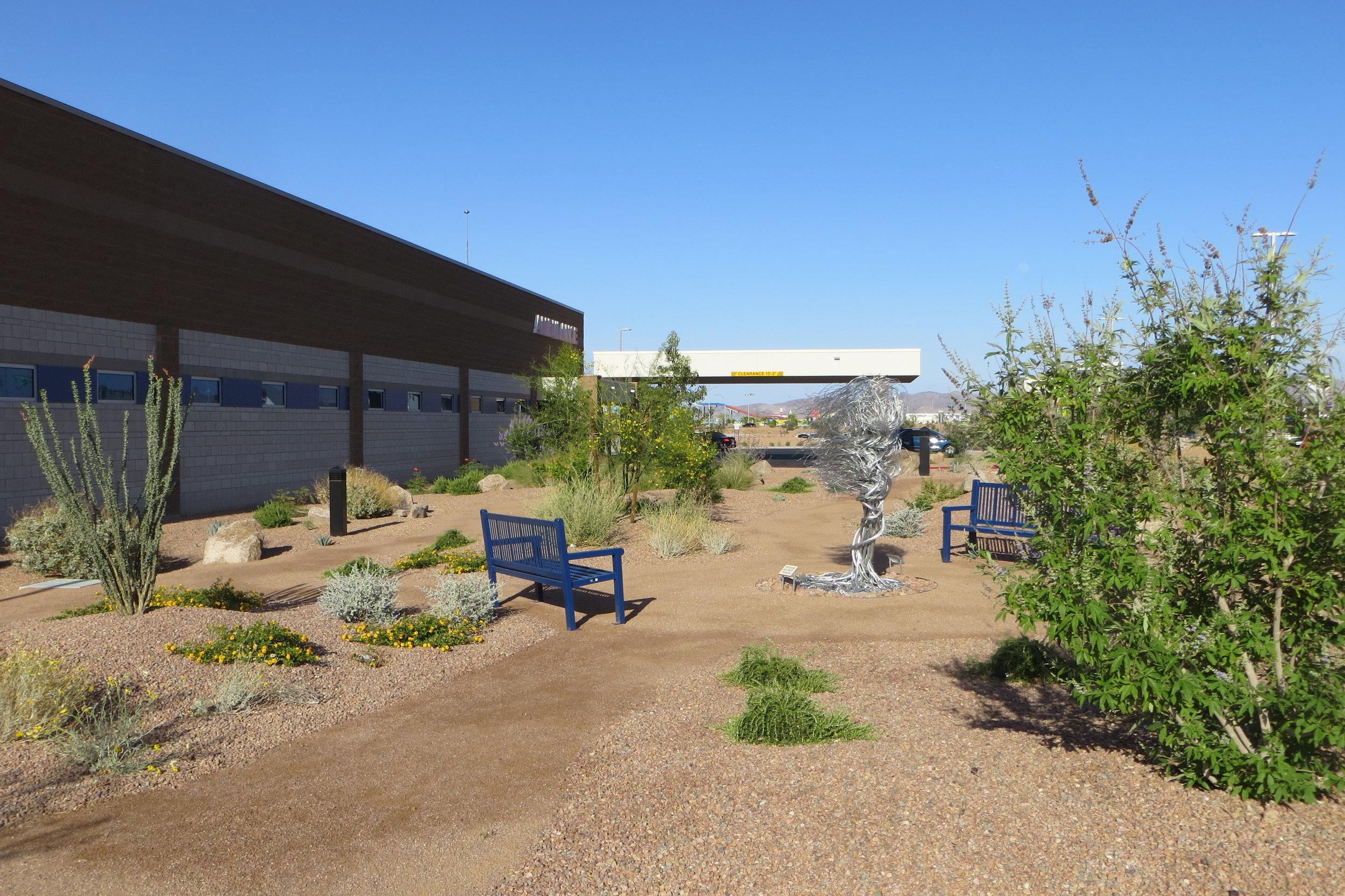 Henderson Hospital Butterfly Garden