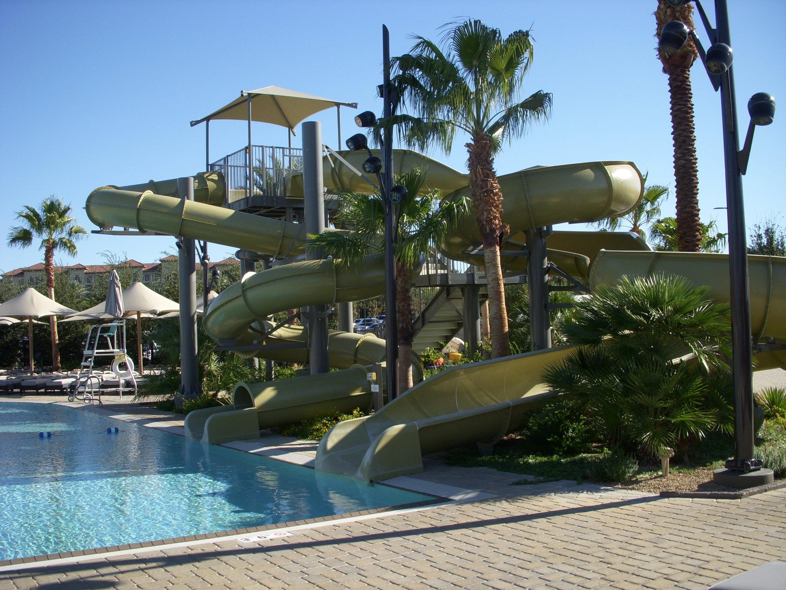 Lifetime Fitness Pool Area
