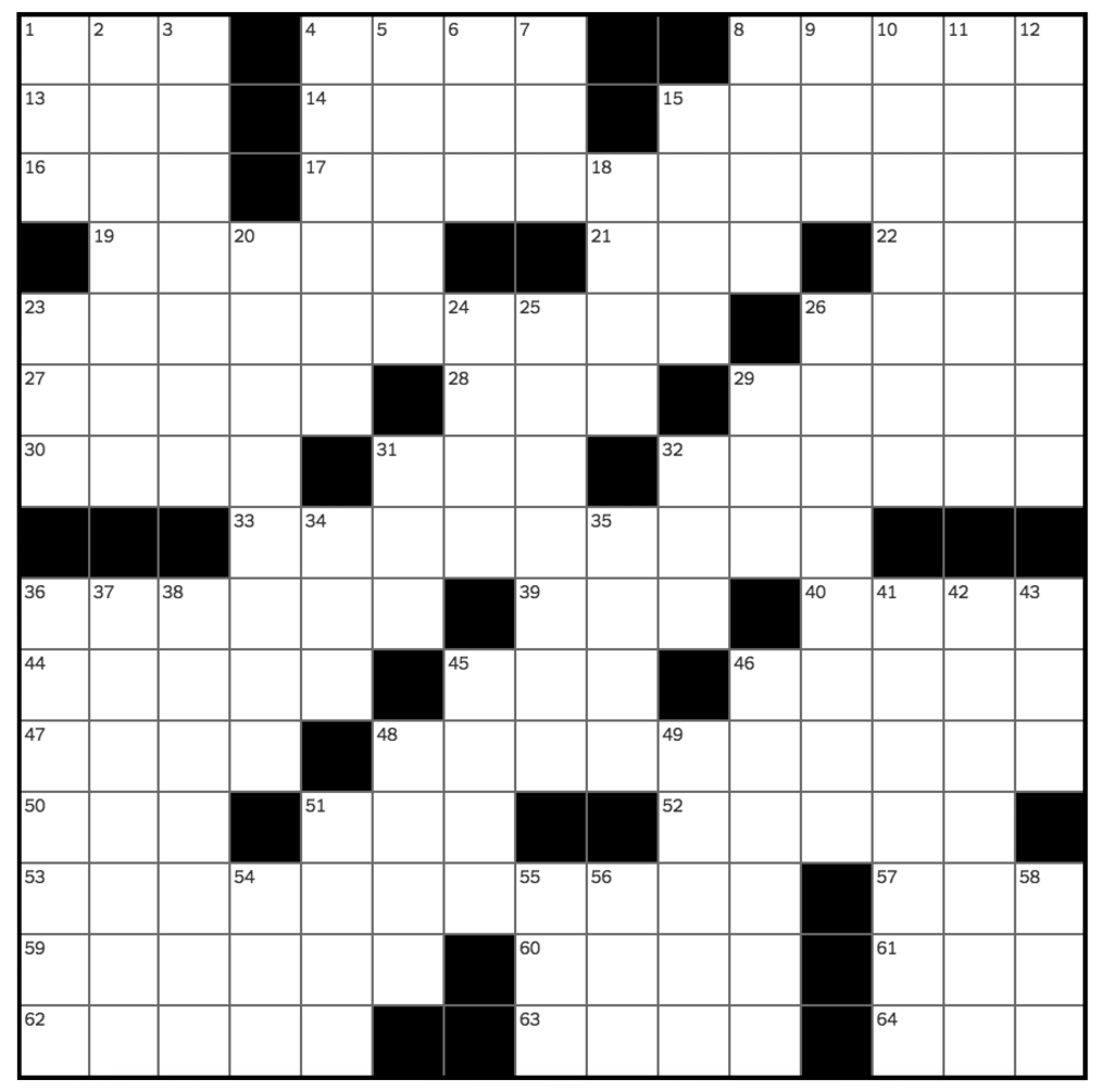 Crossword 3