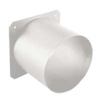 lighting-equipment-for-sale-communications-fixture-accessories-s4-top-hat-7.5-inch-white