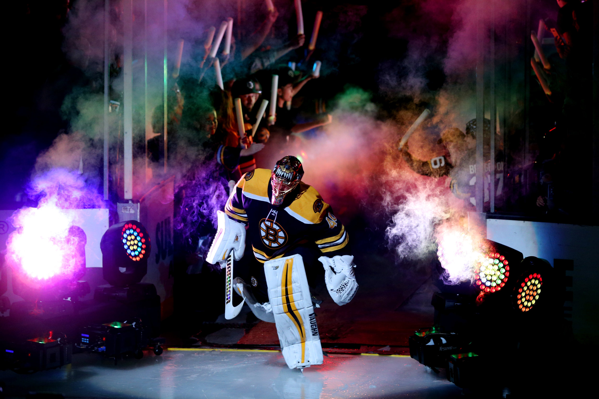 BOSTON BRUINS - Why Port? Because why use anybody else?! Port is the #1 trusted partner for the Boston Bruins' lighting needs at TD Garden. Over the years, I have had the pleasure of working closely with Ron and Steve, and quickly learned how exceptionally flexible, accommodating, and endlessly patient they are while meeting our sometimes crazy and bizarre demands. Many times, I've had to call Port to add new light enhancements or program lights with just a few hours' notice. Port has always pulled it off for us, which sometimes meant working through the night.I rely heavily on Port's expertise when brainstorming new concepts and ideas as they are always looking to help us enhance the atmosphere for our fans and provide an excellent experience. I wholeheartedly recommend Port to anyone wanting help bringing their entertainment lighting production services ideas to fruition.Renée Riva, Creative Marketing & Game Presentations Manager