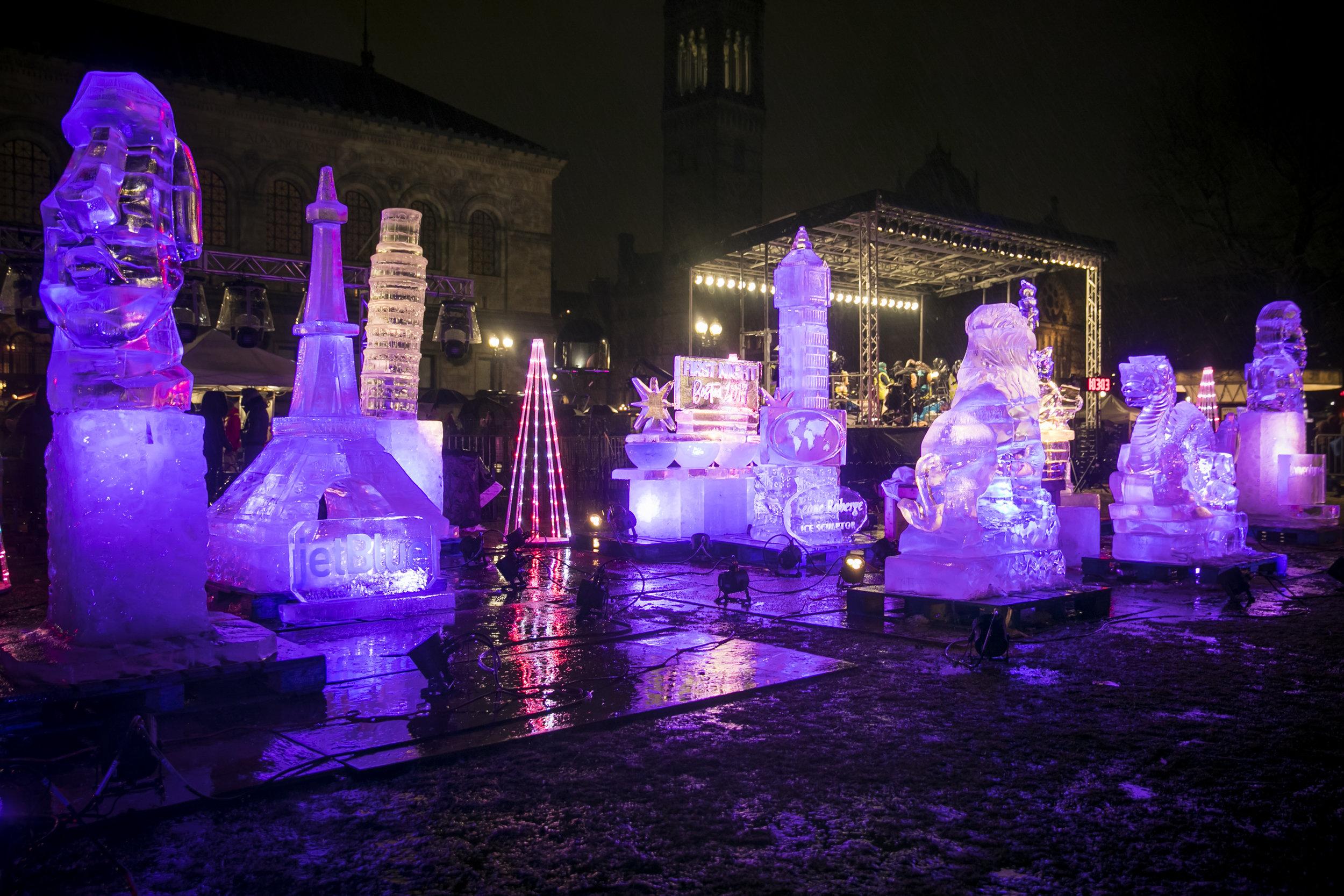 Ice Sculpture Lighting Port Lighting First Night Boston 2019.jpg