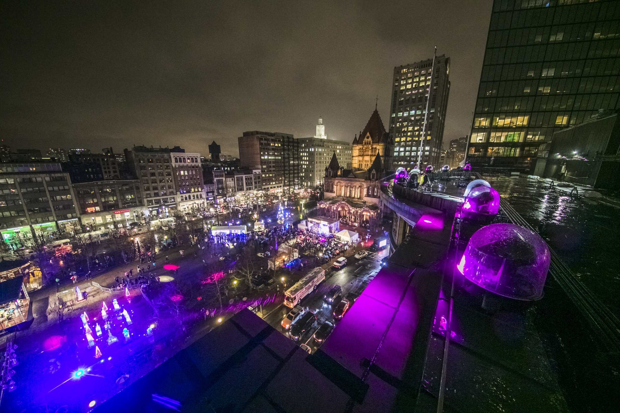 Copley Square Weatherproof Domes Color Changing Lighting Copley Square First Night Boston 2019.jpg