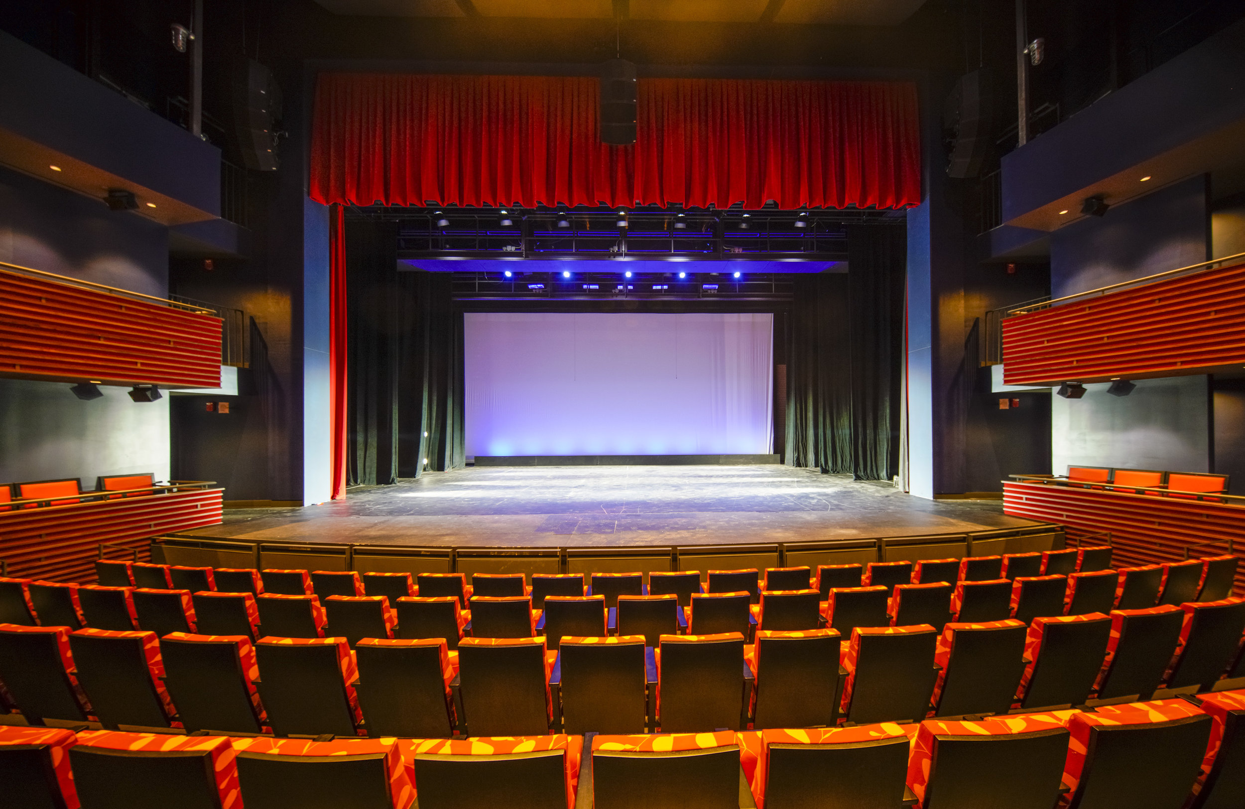 Phillips Exeter Academy's Mainstage Theater.