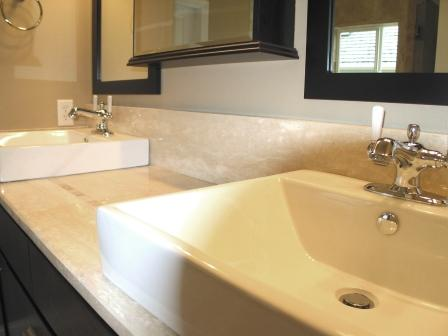 1 Sink Detail with Tile Inlay Granite Counter.JPG