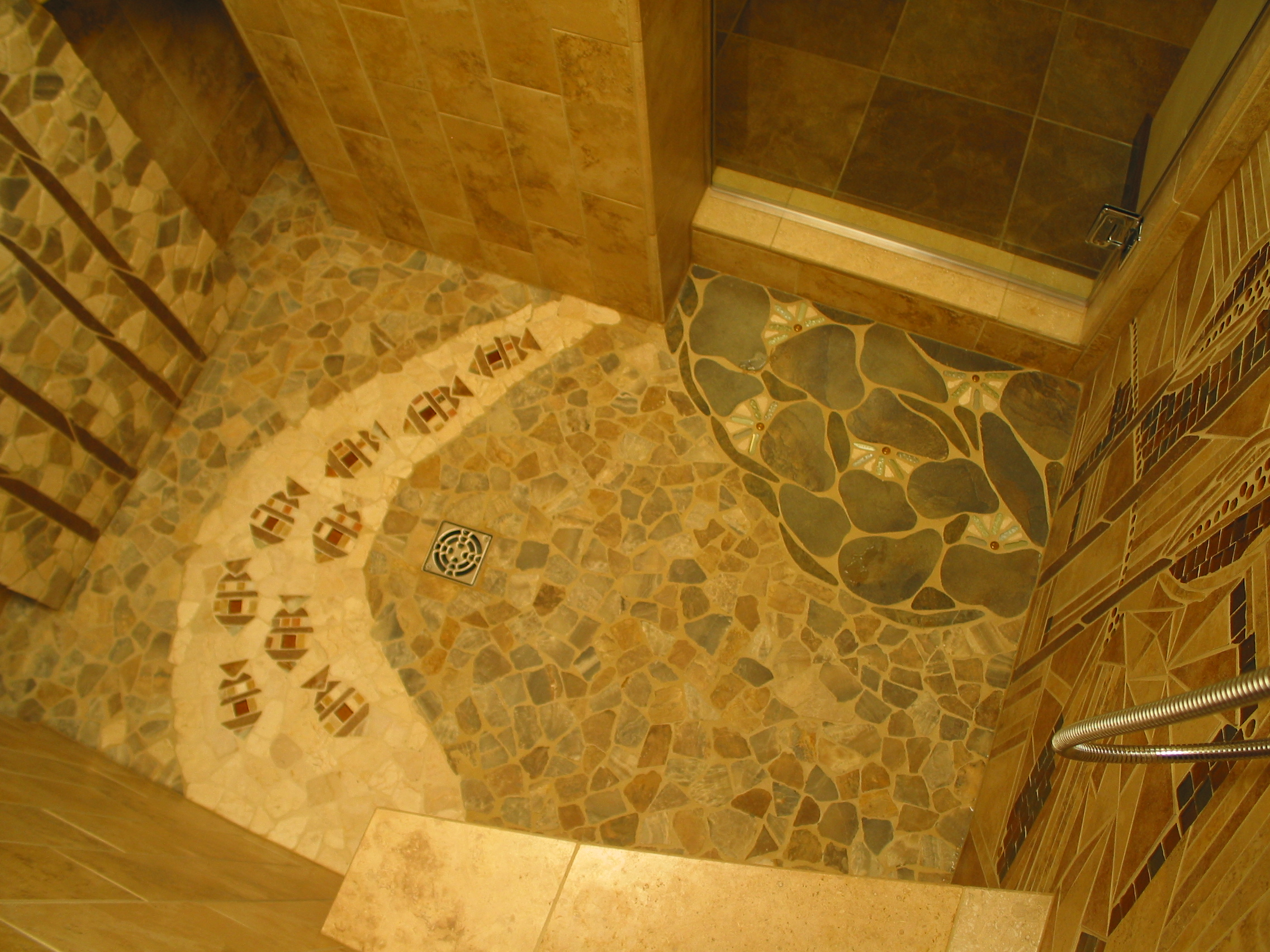 13 Fish and Lillypad Mosaic Floor.JPG