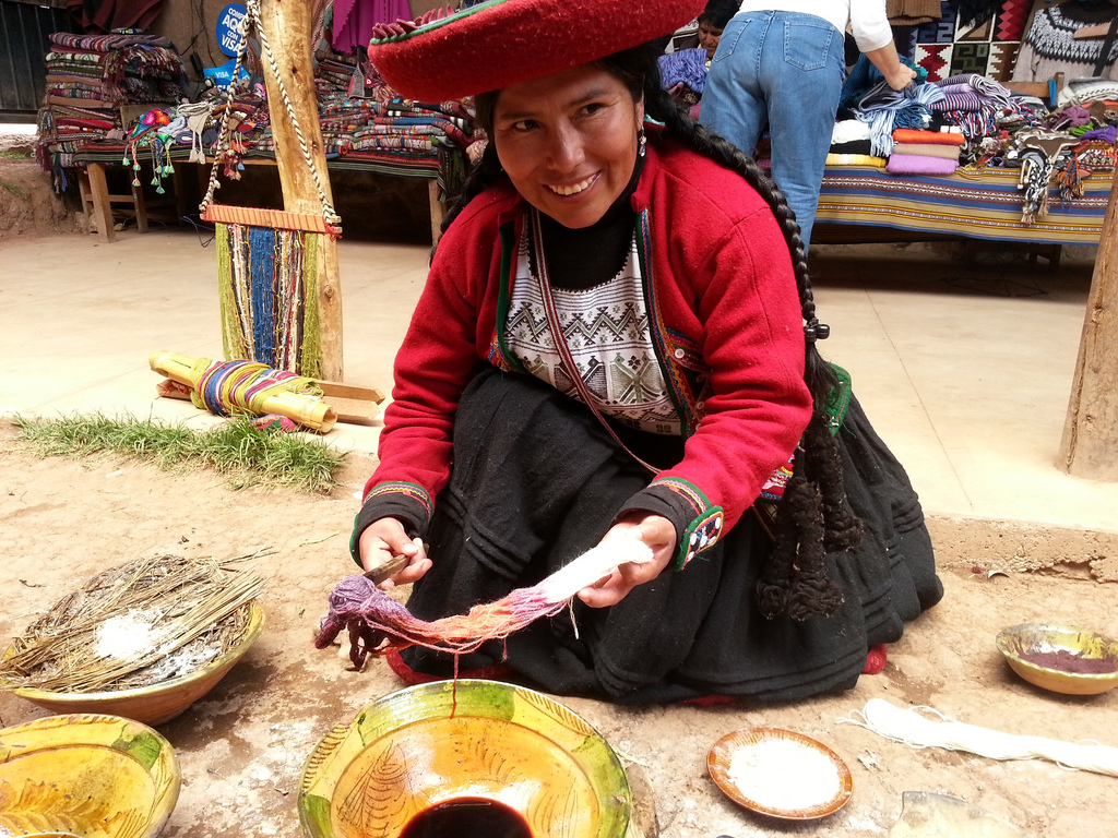 Enjoy Hands-On Workshops - Spend two full days at the Apulaya Cultural Centre enjoying fascinating workshops with local teachers and artisans, learning weaving, spinning, Andean Knitting, embroidery and more….