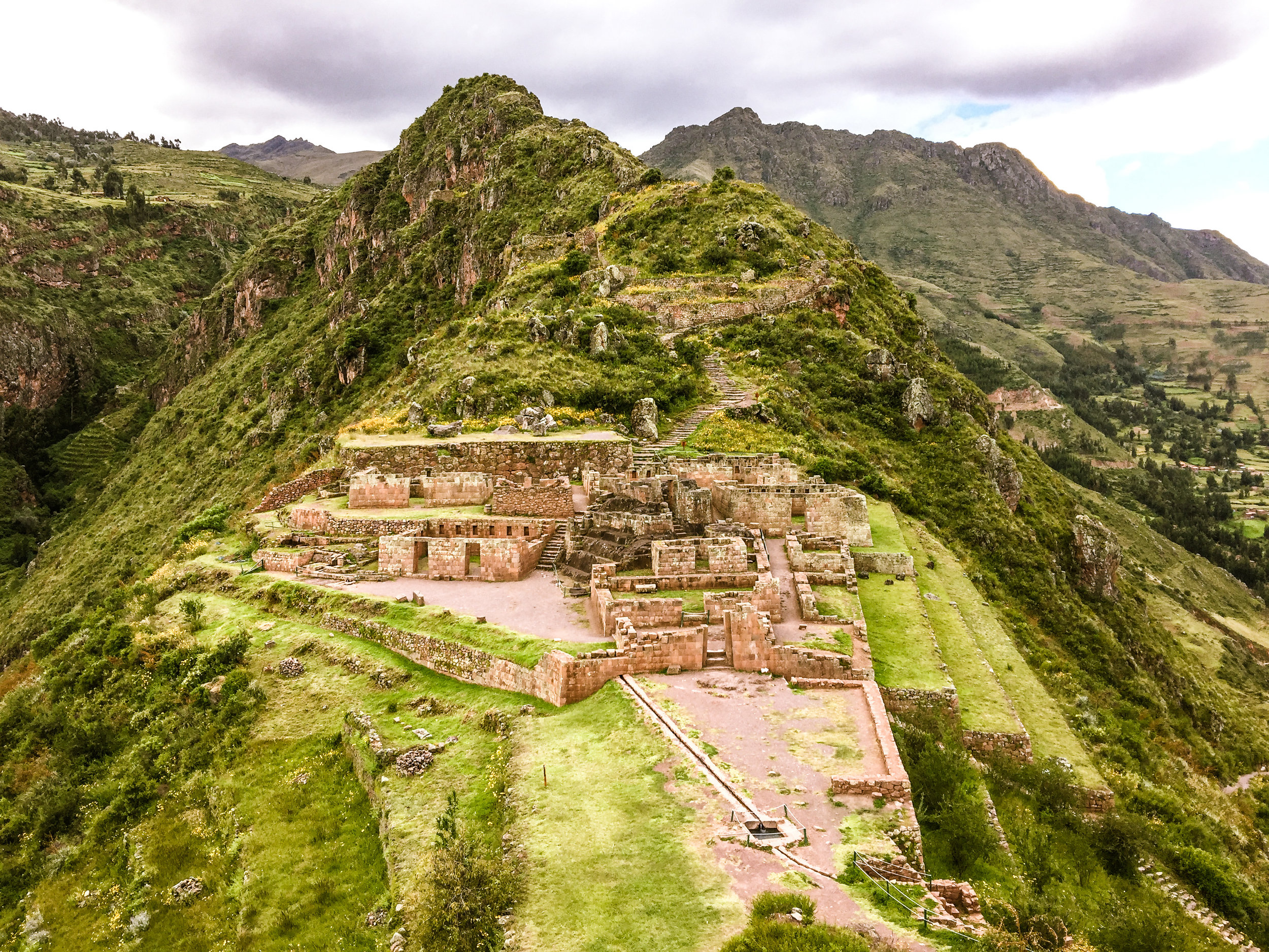 Discover Pisac Inca Ruins and Terraces - Five times the size of Machu Picchu and with some of the most heart-stopping views in Peru. The stonework, as well, is legendary, and includes one of the few surviving solar clocks the Incas used to worship the sun.