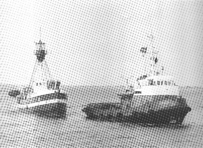 Børge Mikkelsen og hans skibsfæller ombord på Horns Rev Fyrskib tænkte næppe på at fotografere under uvejret d. 3-1-1976. Via skibets meldinger til Meteorologisk Institut kan besætningens vejrmæssige prøvelser dog dokumenteres. Vindhastighederne var kl. 01,07,10 og 13 henholdsvis 22,27,29 og 35 m/sek.
