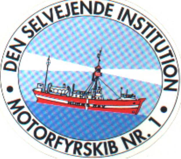 Logo Fonden - Motorfyrskib no. 1