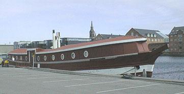 Fyrskibet på sin nuværende position. Foto: BULITO 2001