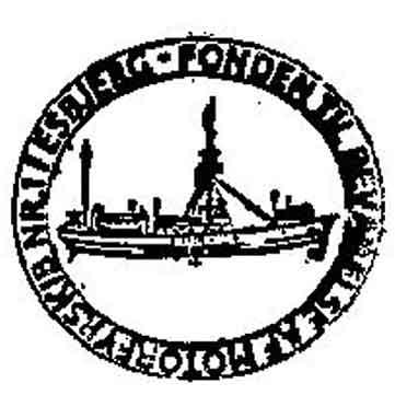 Skibs stempel fra Motorfyrskib no. 1