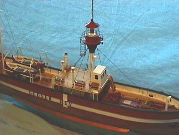 Das Modellschiff im Massstab 1:50