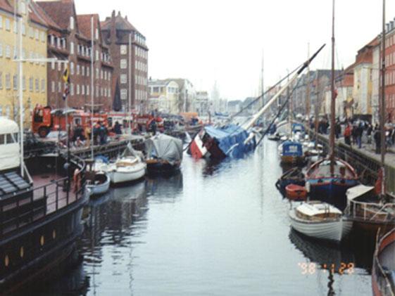 Das Feuerschiff XII, gesunken 28. November 1998