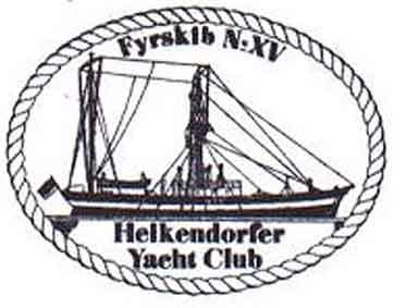 Der aktuelle Bordstempel vom Feuerschiff XV.