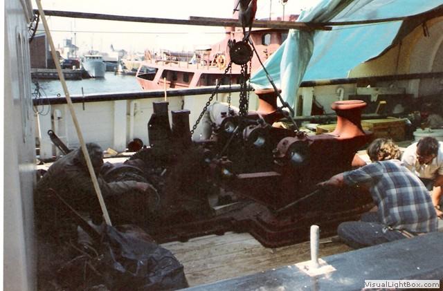 Gamle billeder - Motorfyrskibet no. 1 - Horns Rev33.jpg