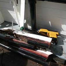 Tidligere reparationer af Fyrskibet Esbjerg56.png