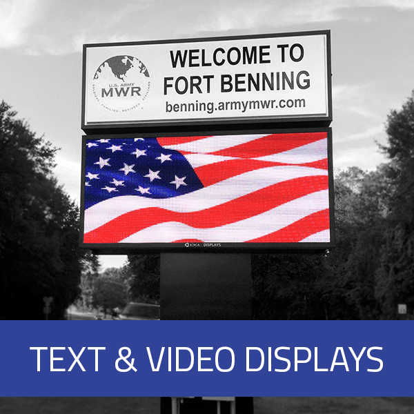 Text & Video Displays